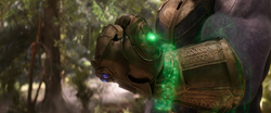 Thanos activates the Time Stone