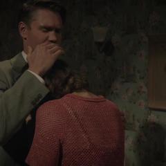 Thompson consolando a Martinelli.