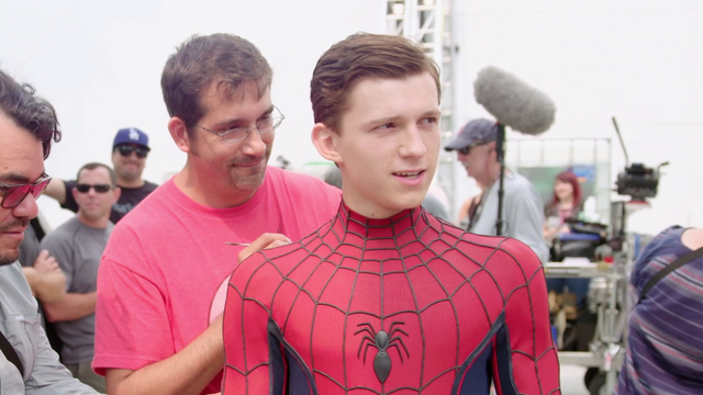 File:Tom Holland (Spider-Man) Behind the Scenes - The Making of CACW.png