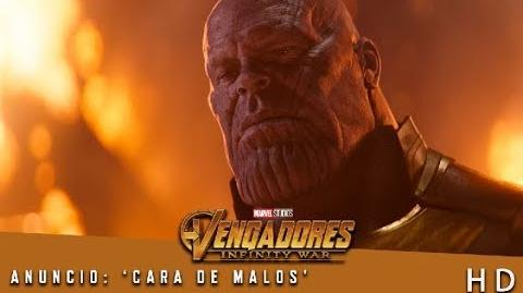 Vengadores Infinity War de Marvel Anuncio 'Cara de malos' HD