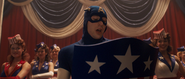Captain America Reading (USO Show)