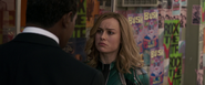 Carol Danvers meets Nick Fury