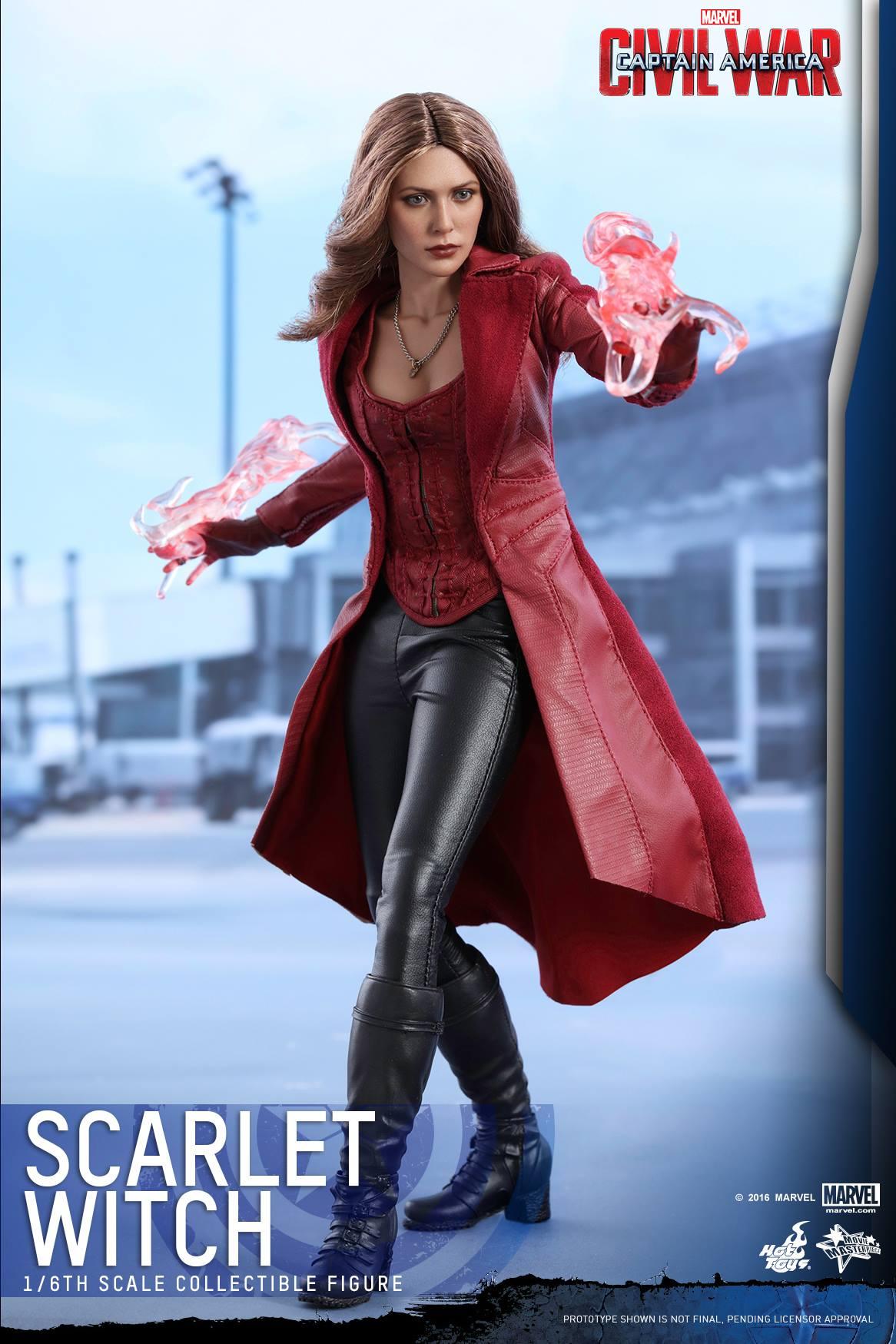 image scarlet witch civil war hot toys 2jpg marvel