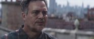 Bruce Banner talks to Ancient One
