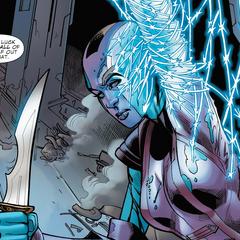 Gamora abandona a Nebula.