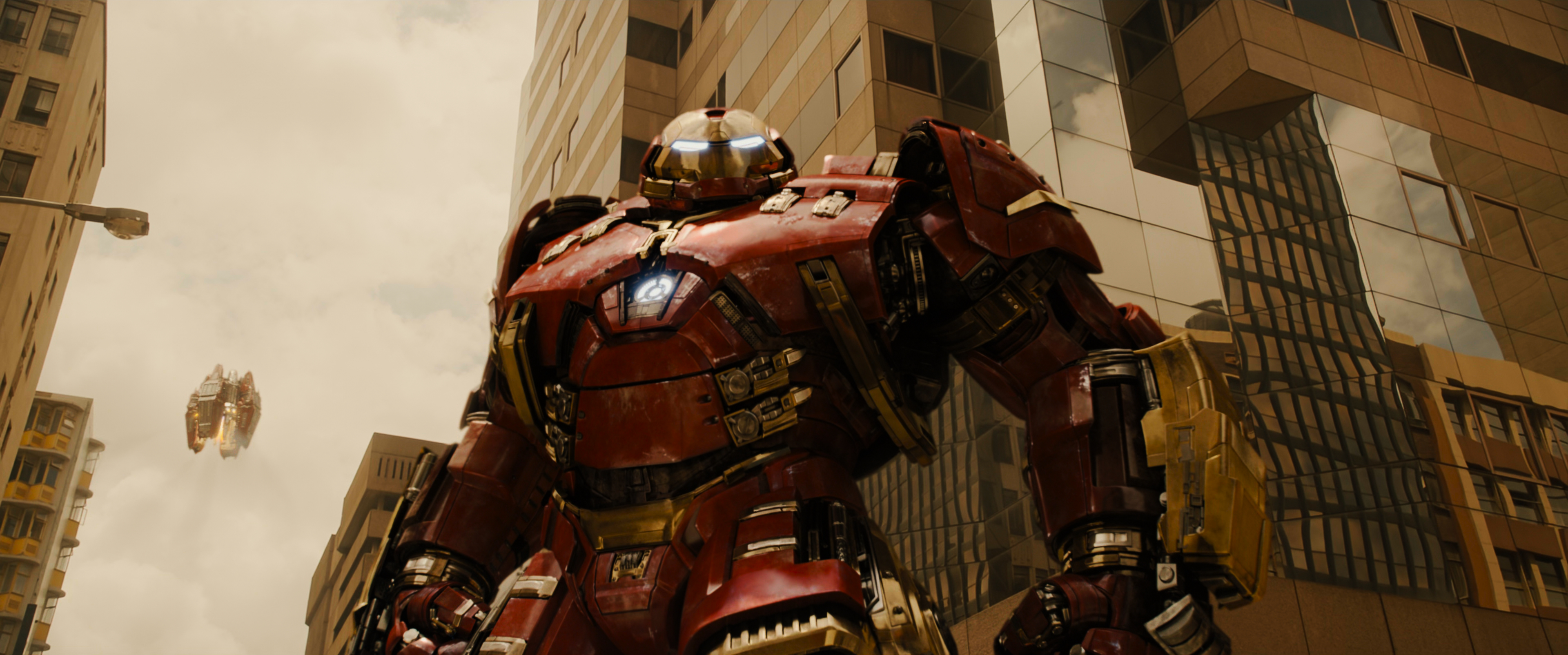 Iron Man Dons The Hulkbuster Armor