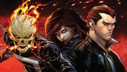 The Spirits of Vengeance (Marvel-Hulu Announcement) - Ghost Rider-Helstrom