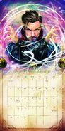 Doctor Strange Calender 2