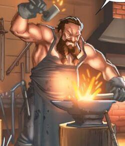 Haldier the Blacksmith