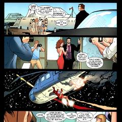 Stark disfruta de su nuevo estilo de vida tras revelar su identidad de superhéroe.