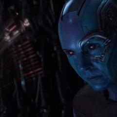 Nebula contacta a Mantis para reunirse con los Guardianes en Titán.