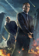 Nick Fury and Phil Coulson Textless The Avengers Poster