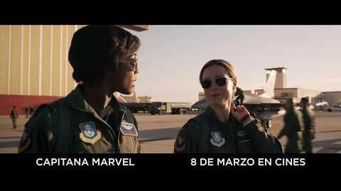 Capitana Marvel Anuncio 'Más alto' HD