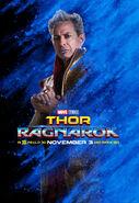 Grandmaster Character Poster Thor Ragnarok