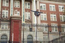 Peter Parker Jump Promo