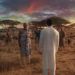 T'Chaka y sus antepasados invitan a T'Challa a unirse a ellos.