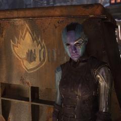 Nebula antes de partir al Planeta de Ego.