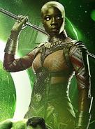 Okoye Infinity War Time Stone Poster