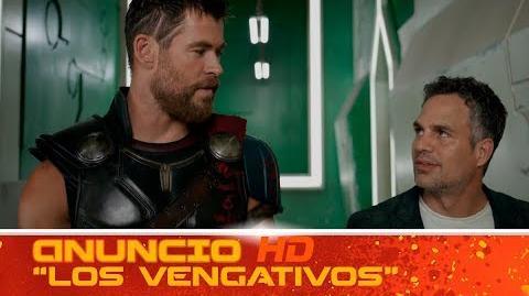 Thor Ragnarok de Marvel Anuncio 'Los Vengativos' HD