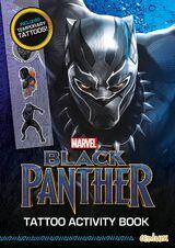 Black Panther: Tattoo Activity Book