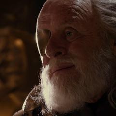Odín le dice a Loki que Thor será el nuevo Rey de Asgard.