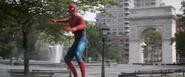 Spider-Man Looks At D-Strange (In Air)