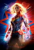 Textless Captain Marvel Theatrical Poster