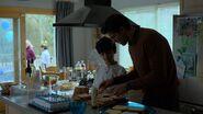 Ray and Sami Nadeem making sandwiches