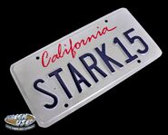 Stark-15-Iron-Man-2-License-Plate