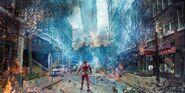 Avengers Infinity War concept art 3