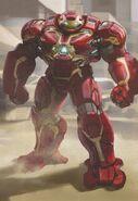 Avengers Infinity War Hulkbuster concept art 2