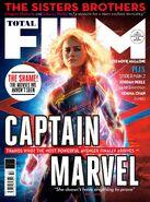 Captain Marvel Total Film Cover