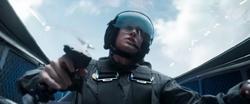 Danvers en una persecución Kree