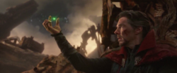 Strange gives up the Time Stone