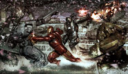 Iron Man 2 2010 concept art 1