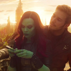 Gamora quiere contactar a Quill.