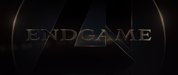 Avengers Endgame Title Card