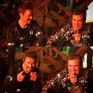 Avengers Infinity War BTS Downey Brolin