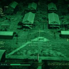 El Campamento Lehigh a punto de ser destruido por un misil.