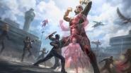 Giant-Man (Avenger Civil War Battle - The Making of CACW)