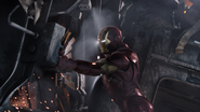 Iron Man (Fixing the Helicarrier)
