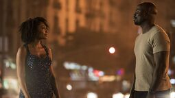 Misty Knight Luke Cage