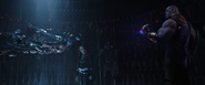 Nebula being tortured by Thanos