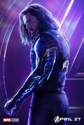 Avengers Infinity War Winter Soldier Poster