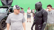 Black Panther with Directors Russo (The Making of CACW)
