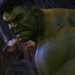 Hulk durante el ataque a la <i>Statesman</i>.