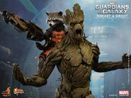 Rocket Groot Hot Toy