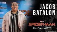 "Spider-Man's ""sidekick"" Jacob Batalon LIVE from the Spider-Man Far From Home red carpet!"