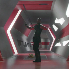 Thor decide abandonar la habitación.