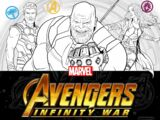 Avengers: Infinity War - Deluxe Colouring